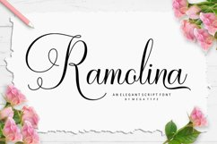 Ramolina Script Product Image 1