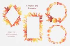 Hello Autumn watercolor collection Product Image 3