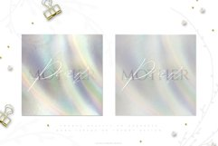 Holographic Pearl - Texture plus FREE Floral set Product Image 6