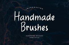 Handmade Brushes Font Product Image 1