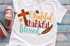 Thanksgiving SVG DXF EPS PNG silhouette studio Product Image 1