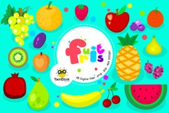 Fruits and Smoothies Clipart Product Image 1
