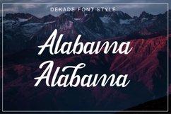 Dekade Brush Font + Swash Product Image 3