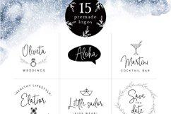 Bright side signature script font logos Product Image 3