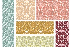 Moroccan digital paper - hand drawn seamless pattern Product Image 4