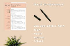 Minimalist CV Template for Ms Word Product Image 6