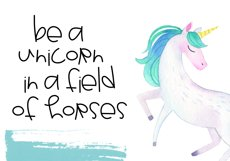 Unicorn Wishes - Quirky Handwritten Font Product Image 4