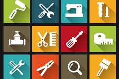 Construction tools icons Product Image 1