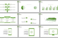 Clarity Company Minimal PowerPoint Template Product Image 4