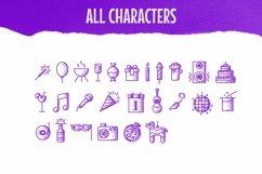 Web Font Party Dingbats Font Product Image 2