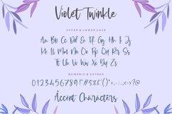 Violet Twinkle Modern Handwritten Script Font Product Image 6