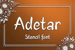 Adetar Stencil Product Image 1