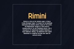 Rimini-Rounded Sans Serif font Product Image 5