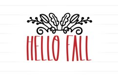 Happy Harvest - A Tall Font And Fall Doodle Duo Product Image 3