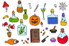 Halloween collection. Patterns, Elements, Posters Product Image 3