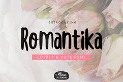 Romantika Font Product Image 1