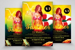 10 Summer Cocktail Party Flyers Bundle Product Image 6