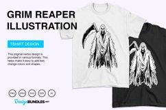 Grim Reaper Vector Illustration Product Image 4