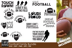 Football Family - Football SVG and Cut Files for Crafters Product Image 1