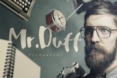 Mr. Duff Typeface Product Image 1