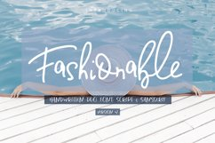 Fashionable Duo Font. Vers.#2 Product Image 1