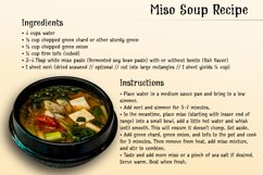 Cream Soup | Sauce Made Font Product Image 3