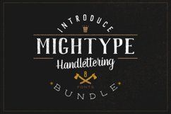 Mightype Handlettering Font Pack Product Image 2