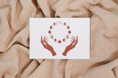 Witch hands svg, Moon phases svg, Crescent moon svg, La Luna Product Image 3