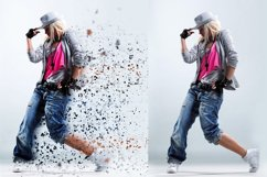 4 in 1 Dispersion Photoshop Action Product Image 6