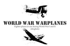 World War Warplanes Product Image 1