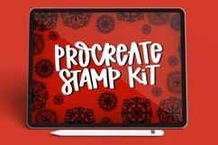 Mandala Stamp Kit - 4 Procreate Stamps Product Image 1