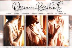 Driana Brideth - WEB FONT - Product Image 5