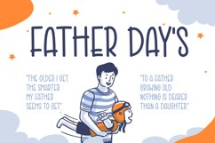 Good Father - Cute Display Font Product Image 2
