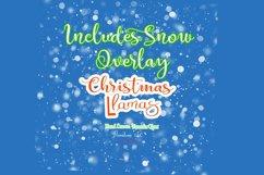 Christmas Llama Clipart, Winter, Santa, Transparent PNG Product Image 4
