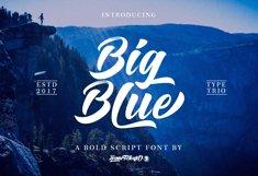 Big Blue Type Trio Product Image 1
