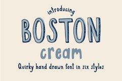 Boston Cream Serif and Sans Web Font Product Image 1