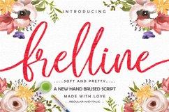 Frelline Script Product Image 1