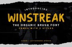 Winstreak - Brush Font Product Image 1