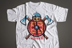 Warrior Viking Helmet Logo Template Product Image 6