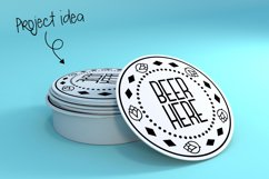 Dingus Batsus, a dingbat font for making borders Product Image 2