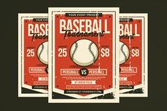 Baseball Tournament Flyer Product Image 1