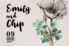 Tuesday Daisy - a beauty script font Product Image 4