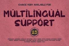 Chakie - Retro Brush Fonts Product Image 5