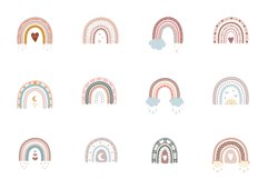 Boho rainbow vector bundle Product Image 6