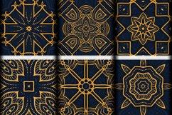 Luxury Mandala Pattern Tiles | Golden arabesque background Product Image 4