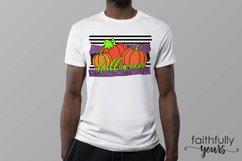 Halloween Pumpkins Sublimation Design PNG JPEG Product Image 3