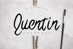 Quentin Typeface Product Image 1