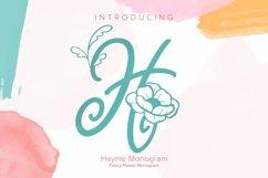 Hayme Monogram Product Image 1