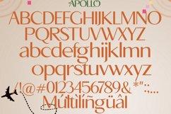Apollo Sans Serif Font Product Image 6
