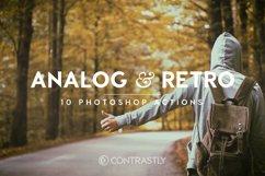 Analog & Retro Photoshop Actions Product Image 1